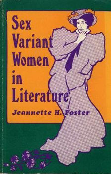 Sex Variant For Women In Literature by Jeannette H Foster