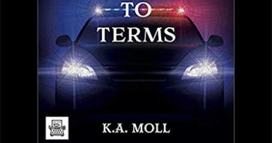 In this episode we hear the an excerpt from the audiobook for Coming To Terms by KA Moll narrated by Emily Beresford